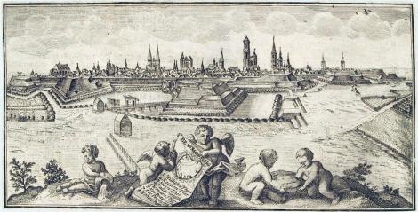 Braunschweig zwischen 1726 und 1750. Quelle: Herzog August Bibliothek Wolfenbüttel