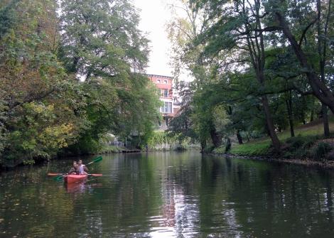 Immer schön, immer beschaulich: Eine Okertour mit dem Boot oder auf einem Floß.