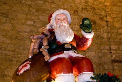 Fleischliche Gelüste am braunschweiger Weihnachtsmarkt