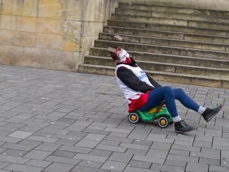 Immer auf der Suche nach dem Besonderen in Braunschweig.