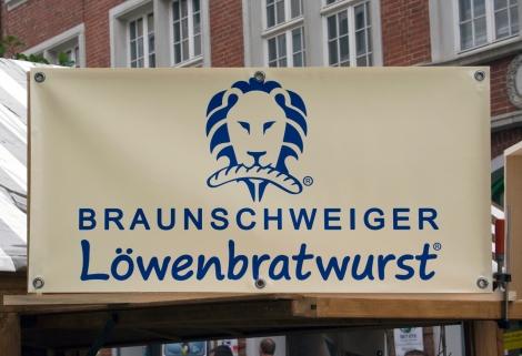 Braunschweiger Löwenbratwurst