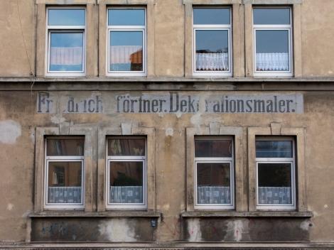 Vermutlich einer der Verursacher historischer Wandbemalungen, zu sehen an der Hildesheimer Straße.